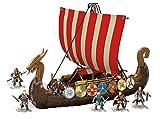 MEGA FPH88 Probuilder Viking Longship Raid (Amazon Exclusive), Mehrfarbig