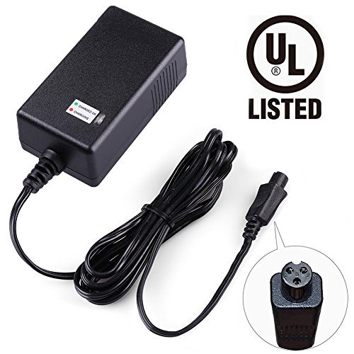 LotFancy 36V 42V 1A Battery Charger, Compatible with Razor Two Wheels...