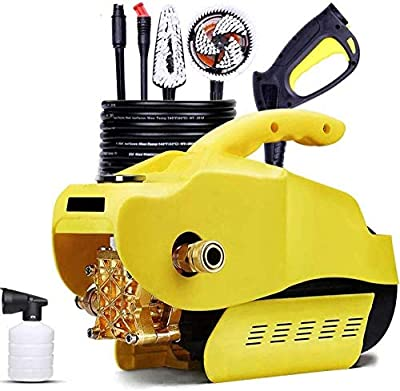 Induction Motor Portable Electric High Pressure Cleaner Pressure Washer Self-Priming Dual Use for Home Garden Car Washing Machine dljyy by dljxx