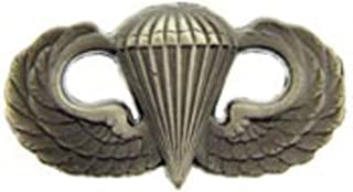 U.S. Army Basic Jump Wings Parachutist Pin - Mini Oxidized Finish