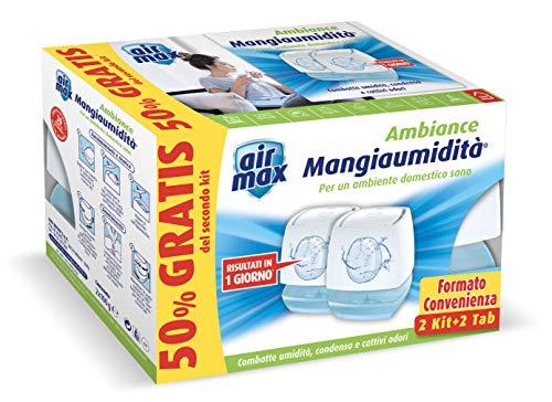 Air Max Mini Kit Tab Ambiance 100 gr Bianco, Promo Pack (2 Kit +2 Tab)