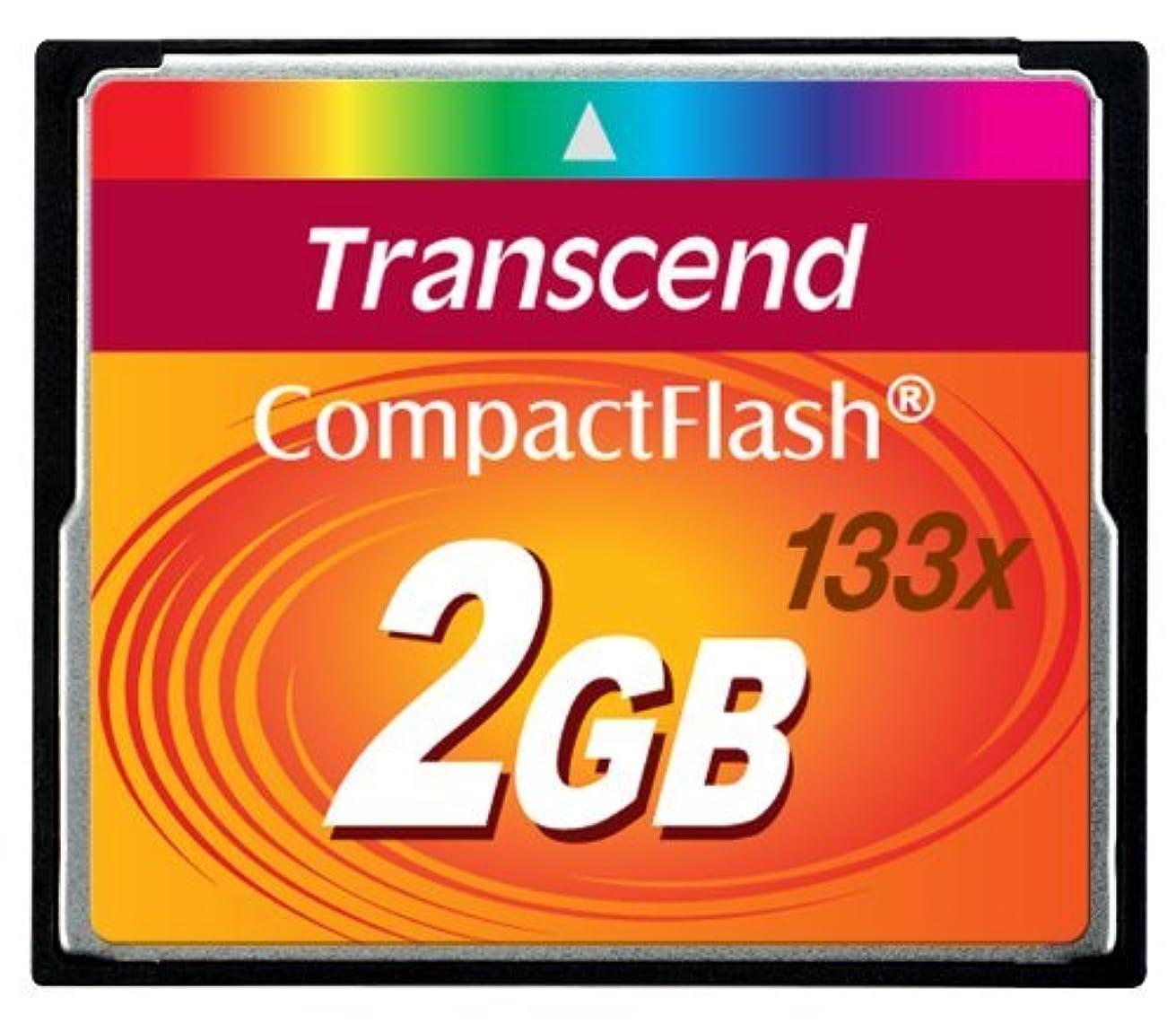Portable, Transcend 2 GB 133x CompactFlash Memory Card TS2GCF133 Size: 2 GB Consumer Electronic Gadget Shop