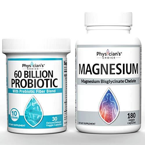 Probiotics 60 Billion CFU + Magnesium Glycinate