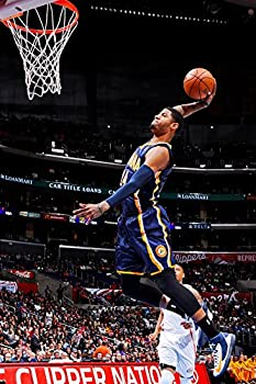 FantasticDecoration Paul George Slam Dunk Indiana Pacers Basketball Poster Art Print 21 x14  S