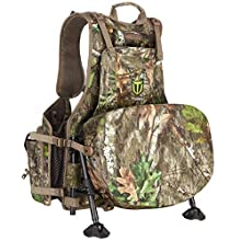 【Large Capacity & Multi Compartment】The turkey vest is designed with one large pouch and a variety of different accessory pockets. This enables you to organize your hunting apparel, ammunition, calls, rangefinder and other hunting gear. TideWe's turk...