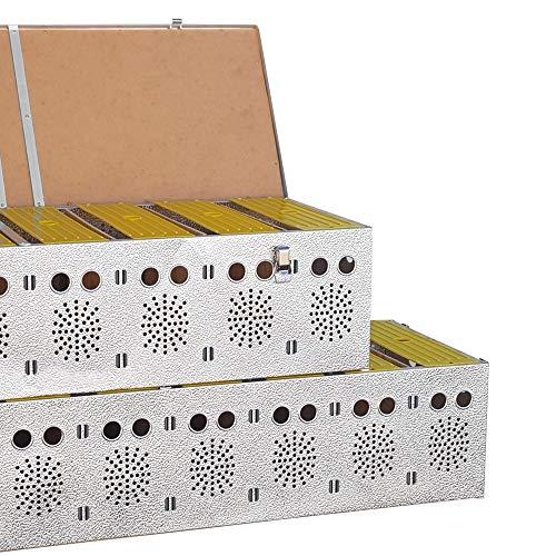 Breker Aluminium Transportkorb 12 Abteilungen - 4