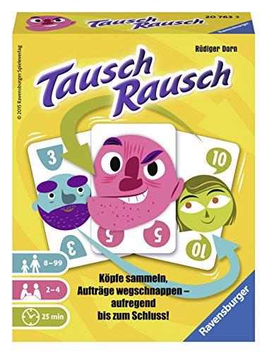 Ravensburger Spiele 20763 - Tausch Rausch Kartenspiel