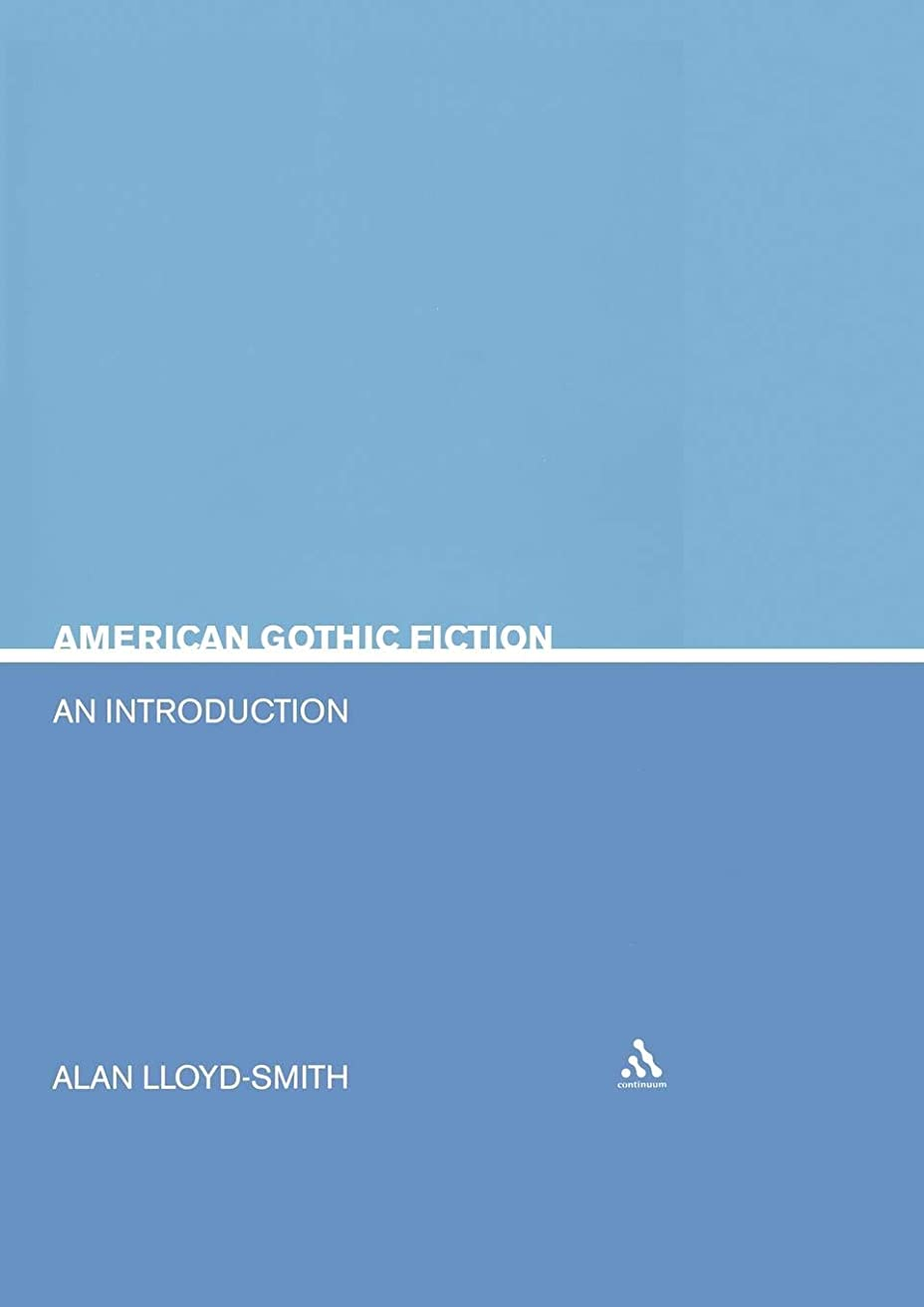 海藻受付アームストロングAmerican Gothic Fiction: An Introduction (Continuum Studies in Literary Genre)
