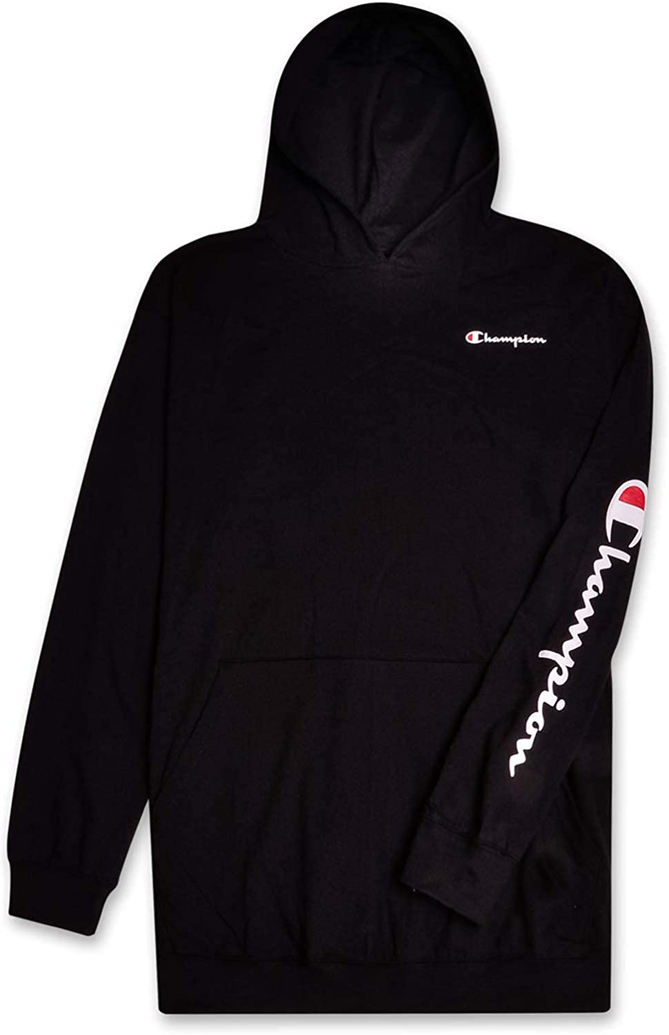 Champion Mens Big and Tall Long Sleeve Pullover Jersey Lightweight Hoodie