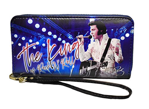 Elvis Presley Wallet - The King White Jumpsuit