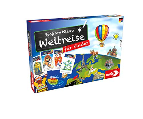 Noris 606071908 – Weltreise für Kinder – eine Fantastische Quiz-Reise rund um die Welt, für Kinder ab 6 Jahren