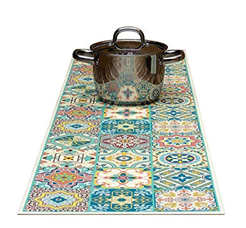Tiva Design, Venetian Beauty Decorative Trivet and Kitchen Table Runner 53 1/8 inches Long by 13 3/4 inches. Handles Heat Up to 360 °F, Anti Slip, Hand Washable and Convenient for Hot Dishes and Pots