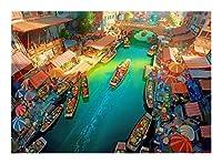 アート教育玩具インテリア絵画300PCS / 500枚/ 1000ピースジグソーパズル、インポッシブルジグソーパズル、パーソナライズギフト、大規模なゲームの興味深いおもちゃパーソナライズされたギフトペーパー、 SYLOZ (Size : 300pcs)