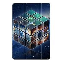 Fuleadture iPad mini 5 2019/iPad mini タブレットケース,アンチドロップ キズ防止 PC + PUレザー 保護ショックプルーフ 三つ折 三つ折タイプ クリア バックカバー iPad mini 5 2019/iPad mini Case-ad438