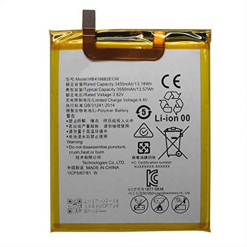 UoUo Battery Replacement For Huawei Google Nexus 6P Battery HB416683ECW