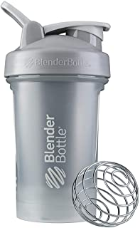 BlenderBottle C03590 Classic V2 Shaker Bottle, 20-Ounce, Pebble Grey