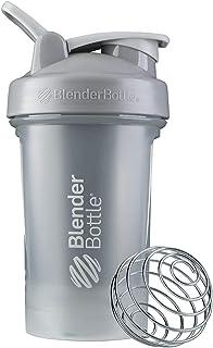 BlenderBottle C03590 Classic V2 Shaker Bottle, 20-Ounce, Pebble Grey