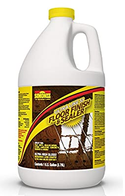 Ultra HIGH Gloss 33% Solids Floor Finish Wax - (More Durable, Less Coats, Less Labor)