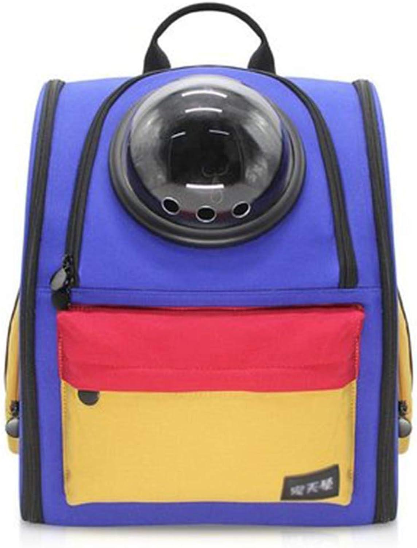 AosyGFR Cat Space Bag Pets Out Folding Portable Double Shoulder Dog Cage Space Pet Cabin