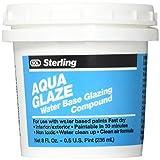 Sterling 21016 Series 021016 1/2 Pint Aqua Water Base Glazing Compound