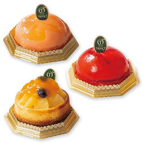 新宿高野 フルーツチーズケーキトリオ