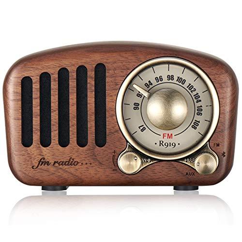 radio madera de la marca AMAZOM