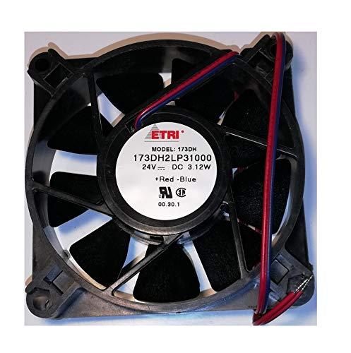 ETRI 173DH2LP31000 ventilador 24V - 3,1W - 80x80x20mm