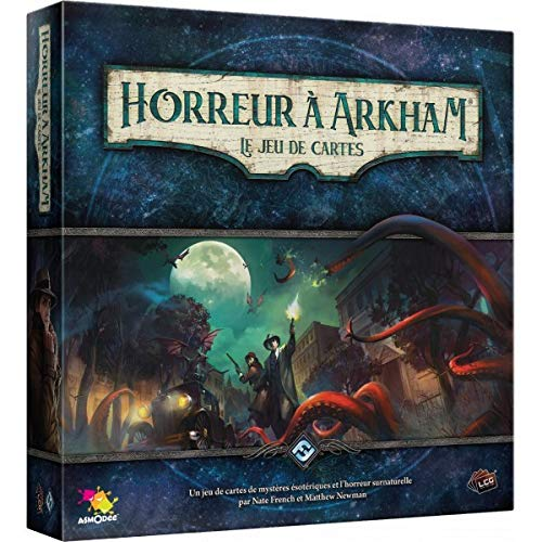 Horror a Arkham - Juego de Cartas de Asmodee - Juego de...
