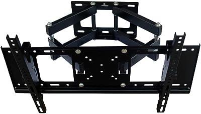 CHUNLAN トロリー テレビ台 マルチアングル調整可能 テレビ台 冷間圧延鋼 32-70インチ 防錆 有効荷重50 Kg 簡単なインストール