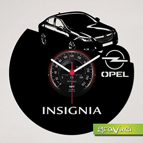 Gravinci.de Schallplatten-Wanduhr Opel Insignia