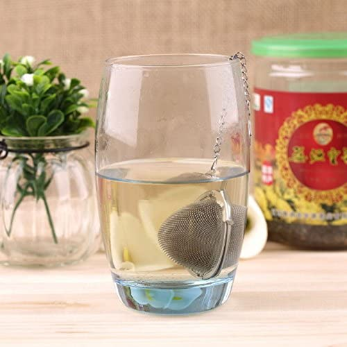 Silicone Manatee Diffuser Infuser Loose Tea Leaf Strainer Herbal Spice Filter F product image