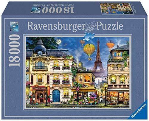Ravensburger Abendspaziergang durch Paris