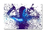 Dreamawsl ブリキ看板 ウォール - ソードアート・オンライン SAO キリート・アスナ - アニメポスター 11.8 x 7.8インチ(30cmx20cm) 11.8 x 7.8 Daojianshenyuggo16