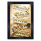 Item Size: 13.5 inches X 19 inches Included Components:One UV textured print framed painting without glass Special Feature:Light weight quality with multi-effects Care Instructions:Water Splash Proof, Easy To Clean and Ready to Hang. Material: High q...