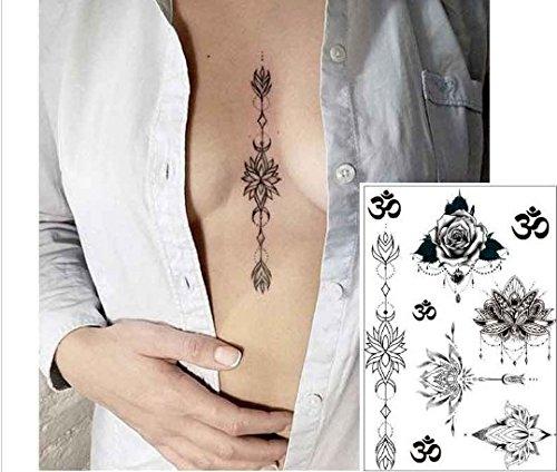 Tatouages géométriques fleurs Tatouages lignes tatouages n°604