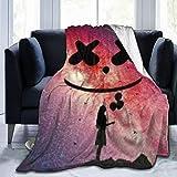 # 4 manta calentador ultra suave de micro forro polar para sofá cama manta