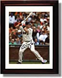 Framed Buster Posey Autograph Replica Print