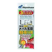 ハヤブサ(Hayabusa) 堤防メバル五目青虫・青イソメ用2本鈎セット  7-0.8 HD171-7-0.8
