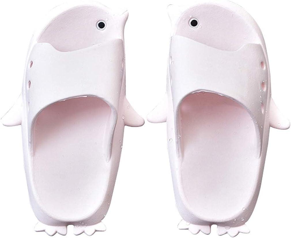 Dolphin slippers Boys Slide On Sandals Unisex Kids Animal Foot Indoor Outdoor
