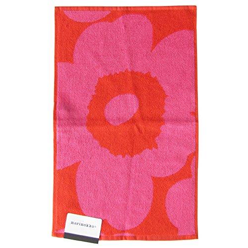 Marimekko - Unikko - Gästehandtuch - Rot/Pink - 30x50cm