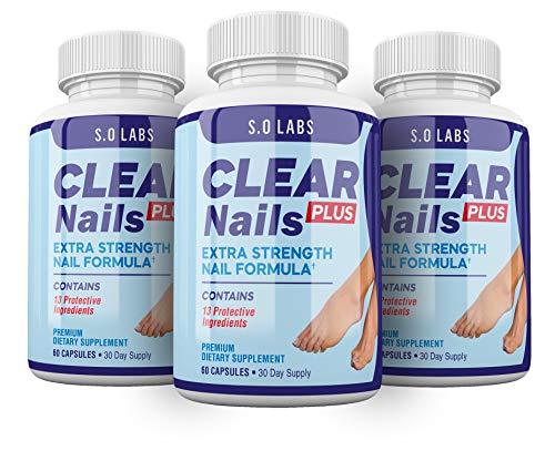 Clear Nails Plus - Antifungal Probiotic Pills - 180 Capsules (3 Month Supply)