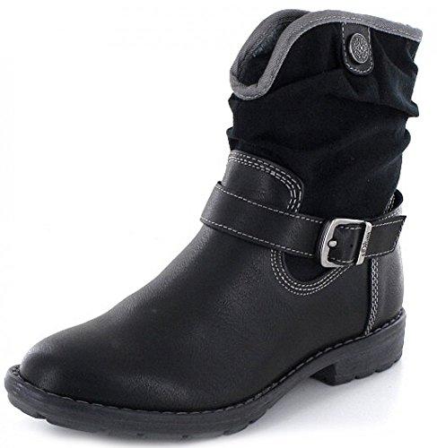 s.Oliver Kinder Stiefel 5-5-75432-37 5-5-75432-37 schwarz 245122