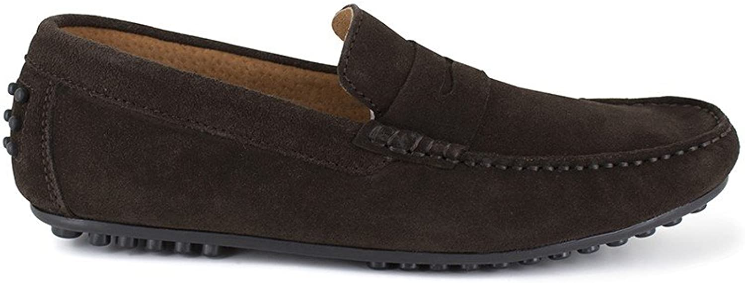 Peter Blade Loafer Brown Leather Basil
