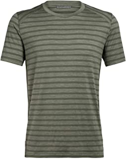 Icebreaker Elowen Crewe - Camiseta de Merino para Hombre