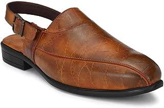 Raymond Solid Khaki Coloured Synthetic Men Sandal
