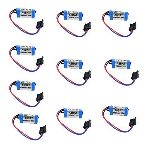 Backupower Batería de repuesto de 10 unidades, compatible con...