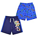 Disney Toy Story 2-Pack Shorts Set for Boys, Blue/Black, Size 2T