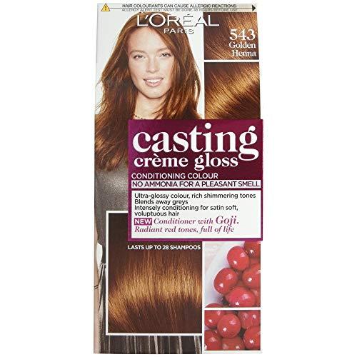 L'Oréal Casting Créme Gloss Haarfarbe Golden Henna 543