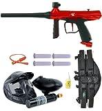 Tippmann Gryphon Paintball Marker Gun PowerPack 3Skull 4+1 Mega Set - Red