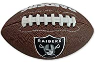 Jarden Sports Licensing Official National Football League Fan Shop Authentic NFL AIR IT Out Youth Football. Great for Pick up Game with The Kids. (Oakland Raiders)